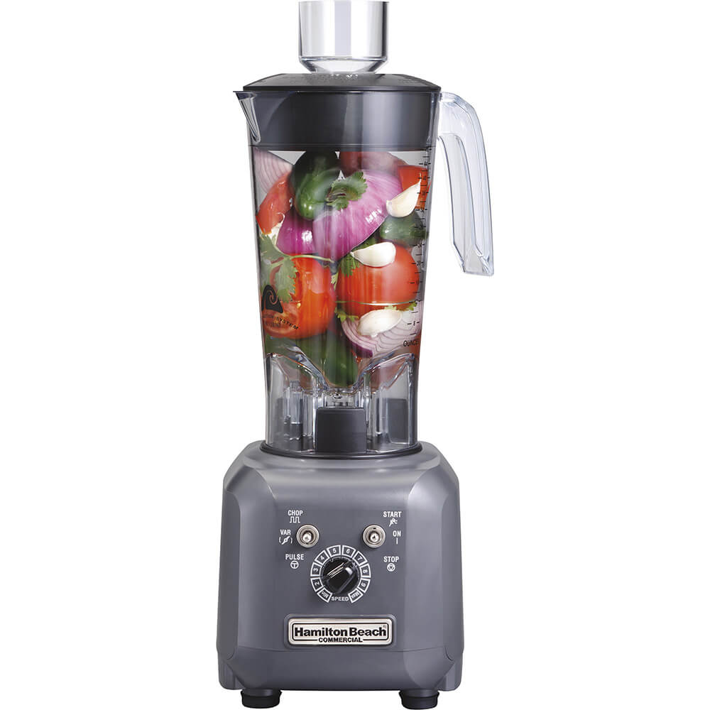 48 Oz. Commercial Food Processor / Blender, 1 Hp Motor