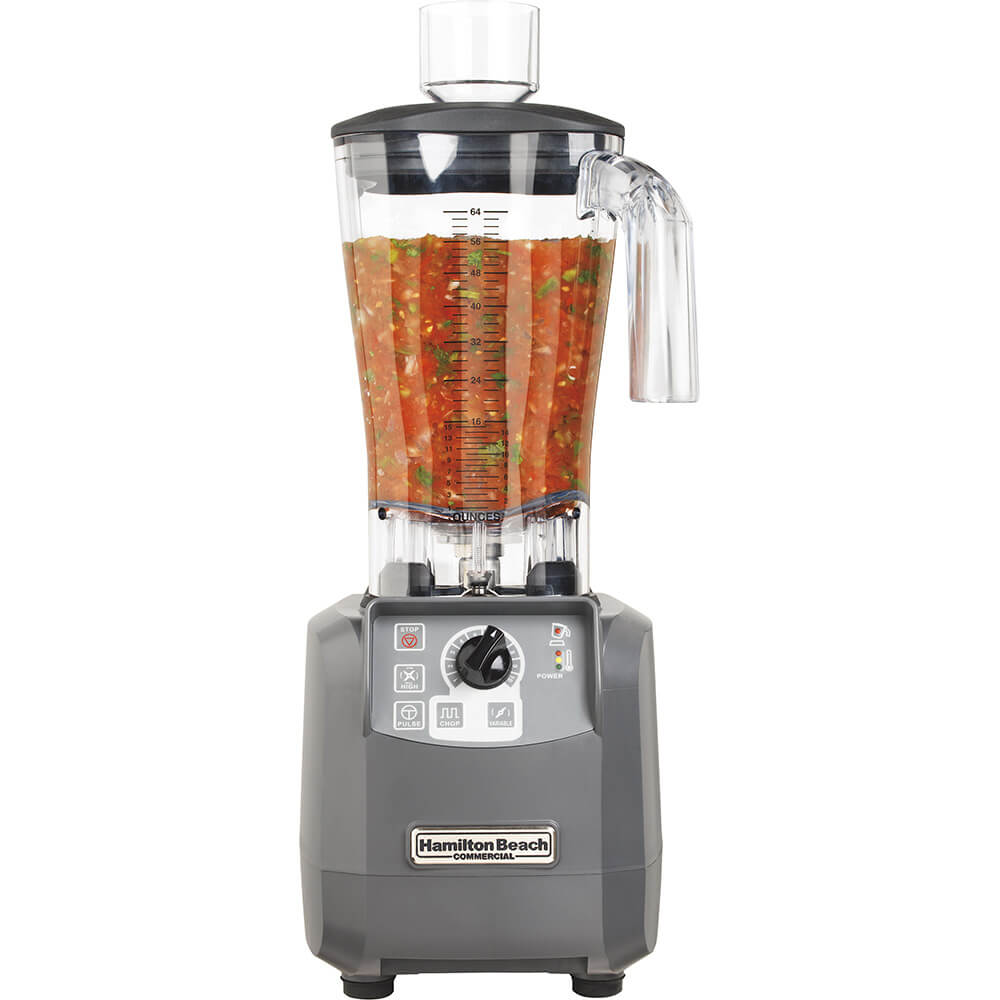 64 Oz. Tournant Food Processor / Blender, 3 Hp Motor