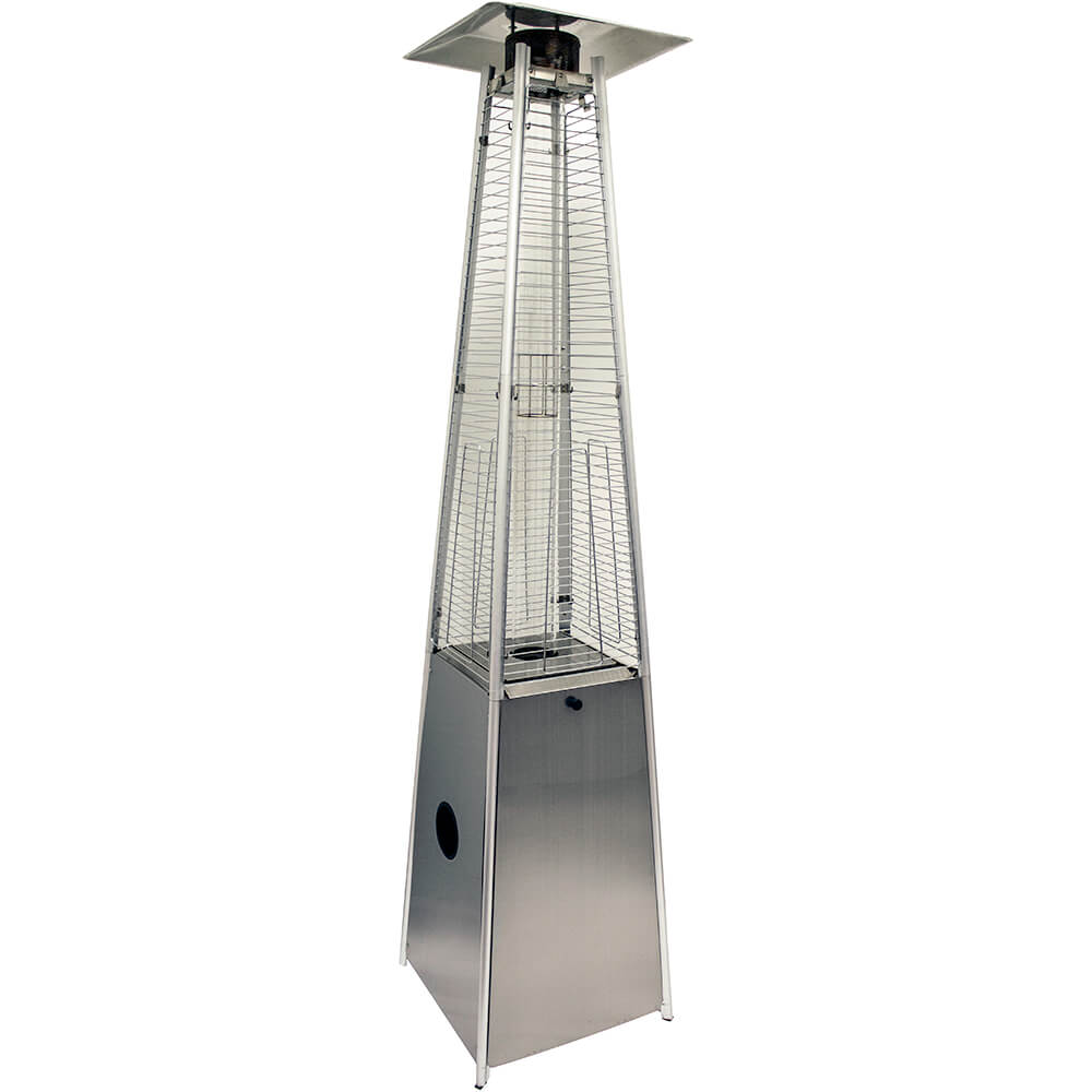 Hiland 40 000 Btu Outdoor Propane Heater Stainless Steel Square