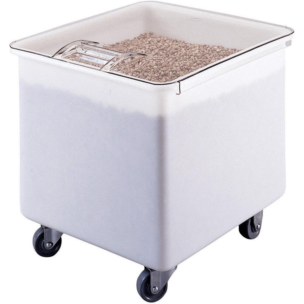 White, Large Storage Ingredient Bin, 32 Gallon Capacity