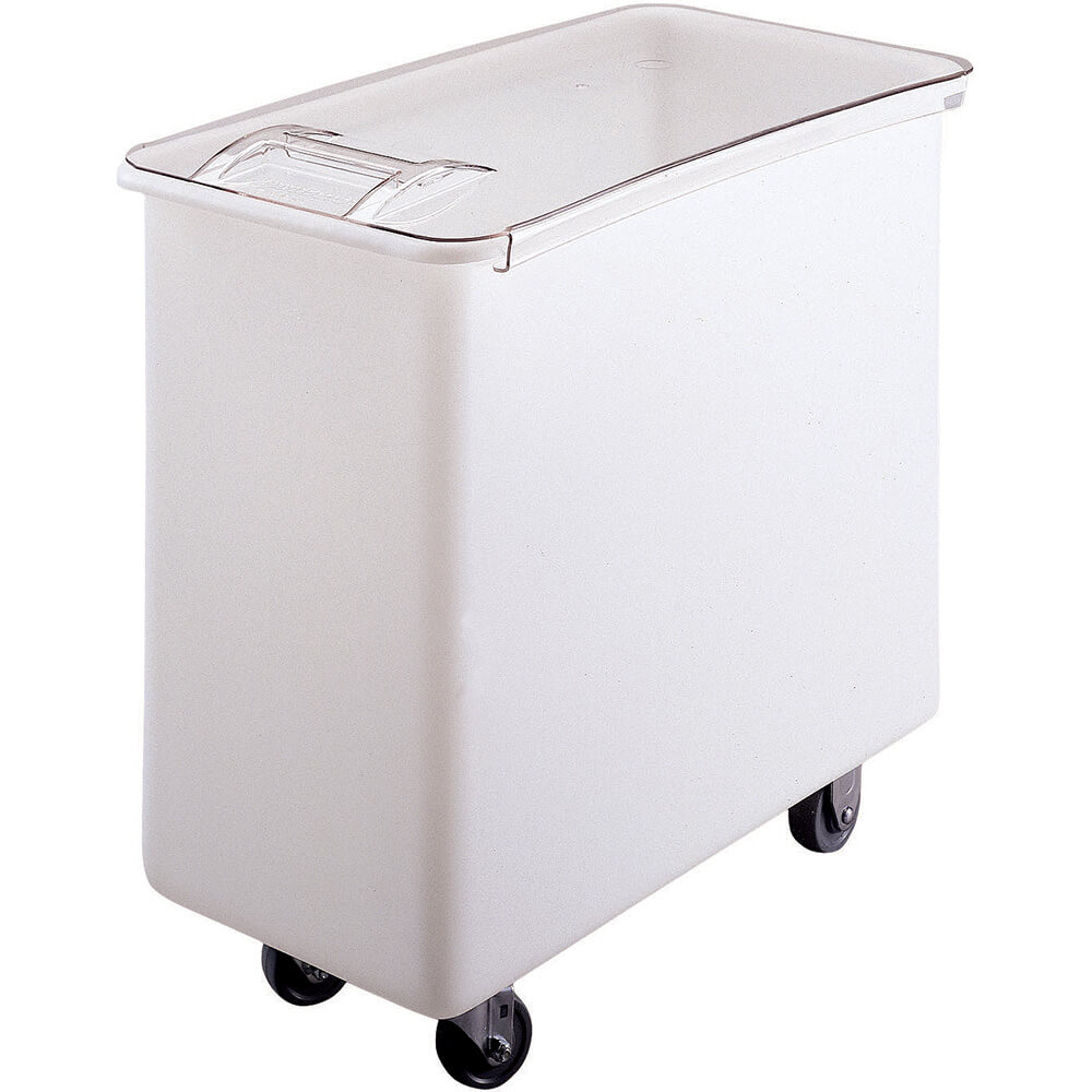 White, Large Storage Ingredient Bin, 34 Gallon Capacity