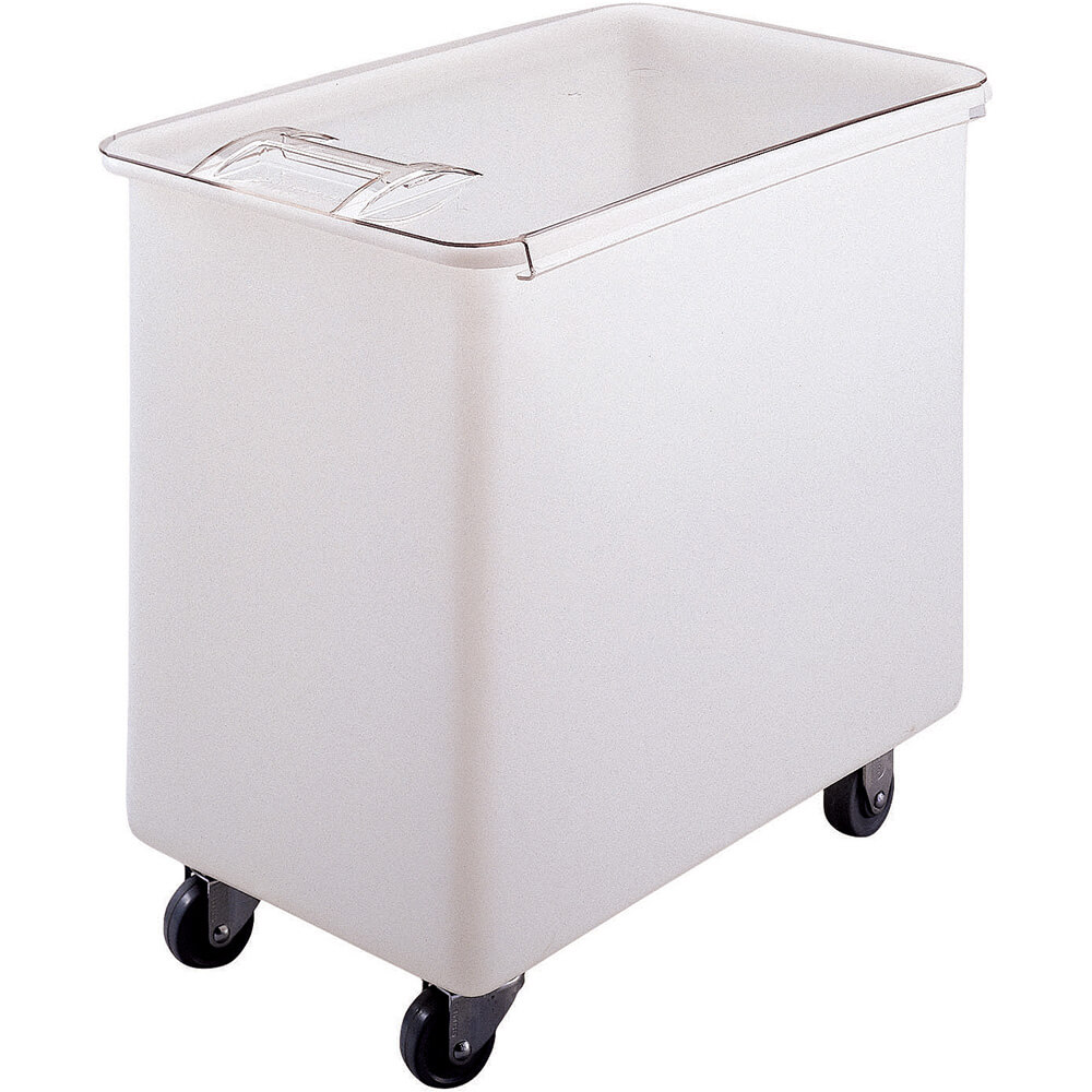White, Large Storage Ingredient Bin, 42.5 Gallon Capacity