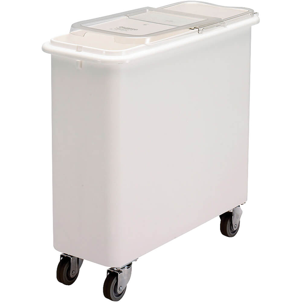 White, Large Storage Ingredient Bin, 26.7 Gallon Capacity