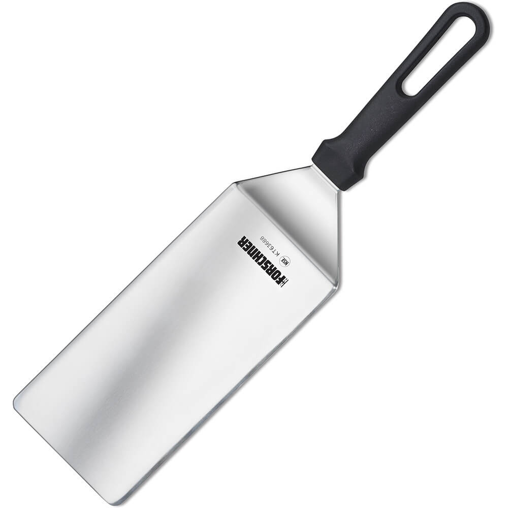 "8"" X 4"" Turner Spatula, High Heat Plastic Handle"