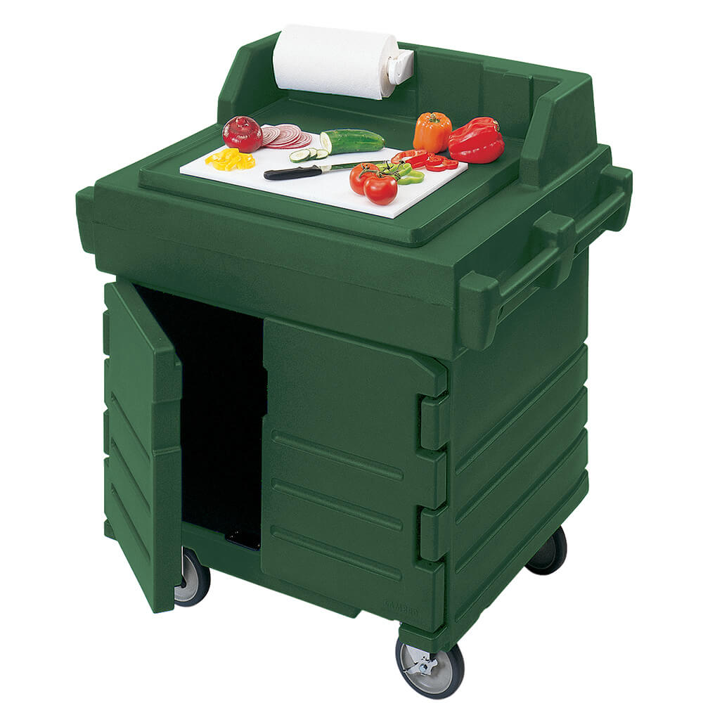 Green, Food Preparation Cart / Work Station