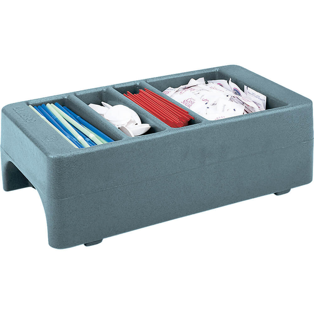 Slate Blue, Small Condiment Holder for Camtainer Beverage Dispensers