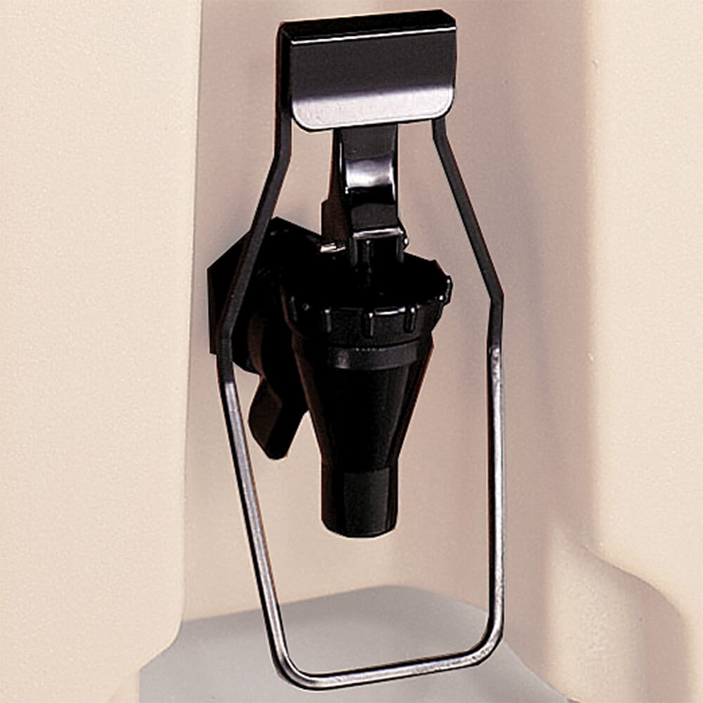 Black, Easy Serve Dispenser for Spigots