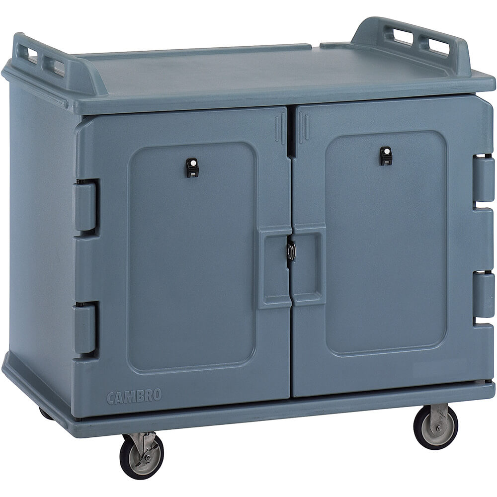 "Slate Blue, Room Service / Meal Delivery Cart, 14"" x 18"" Trays View 2"