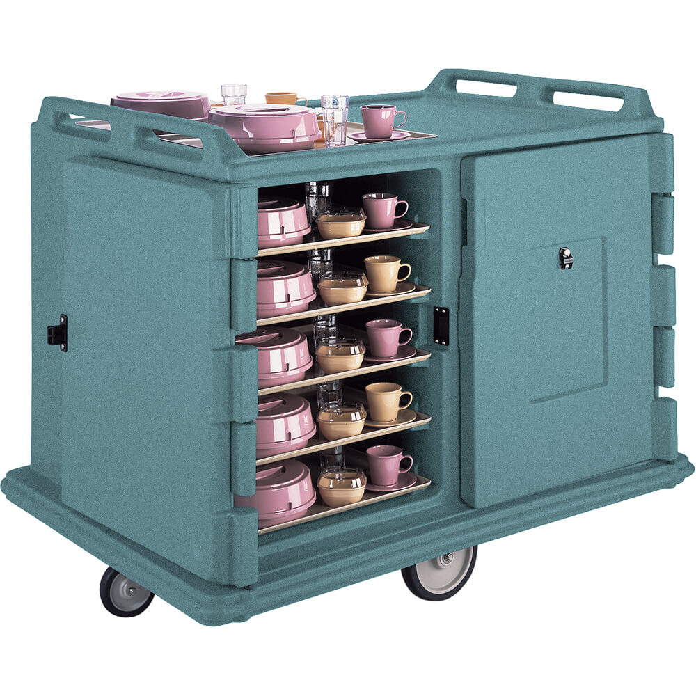 "Granite Green, Room Service / Meal Delivery Cart, 15"" x 20"" Trays"