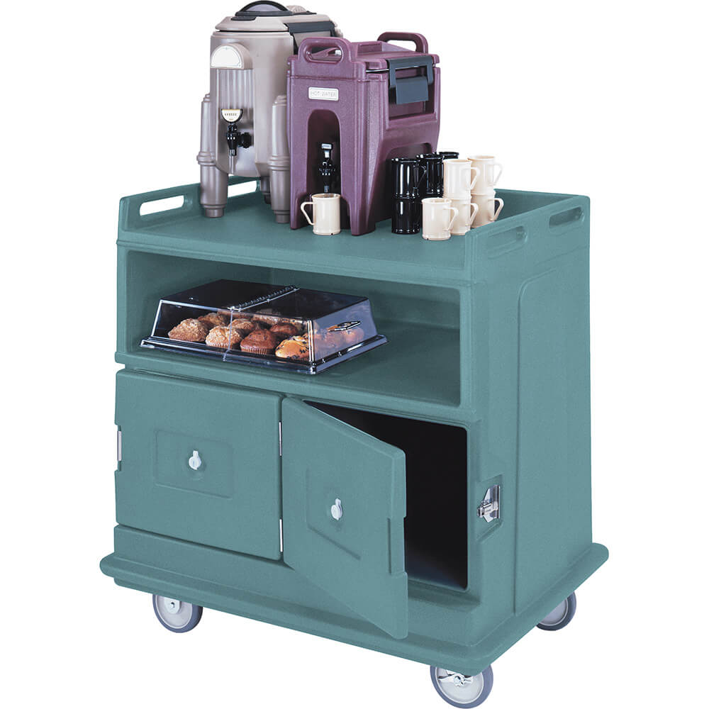 Granite Green, Beverage Cart, Flat Top