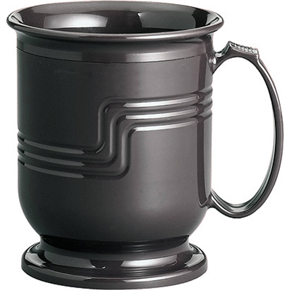 Black, Shoreline Meal Delivery 8 oz. Mug, 48/PK