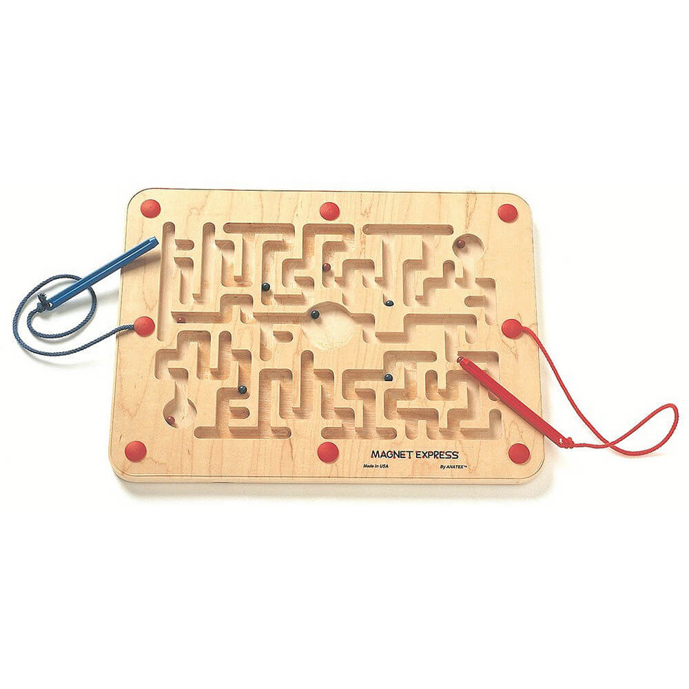 Magnetic Toy Magnet Express Game