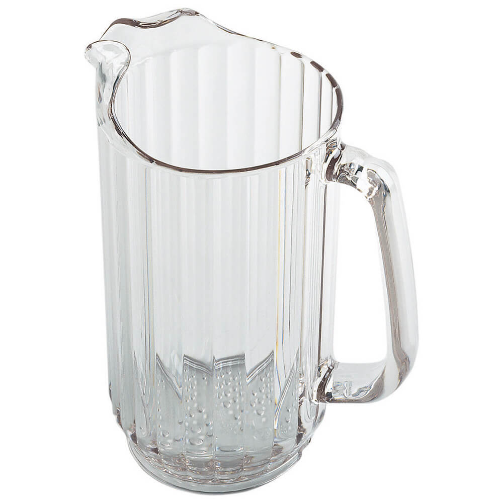 Clear, 32 Oz. Polycarbonate Pitcher, 6/PK