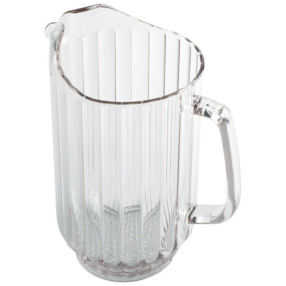 Clear, 60 Oz. Polycarbonate Pitcher, 6/PK