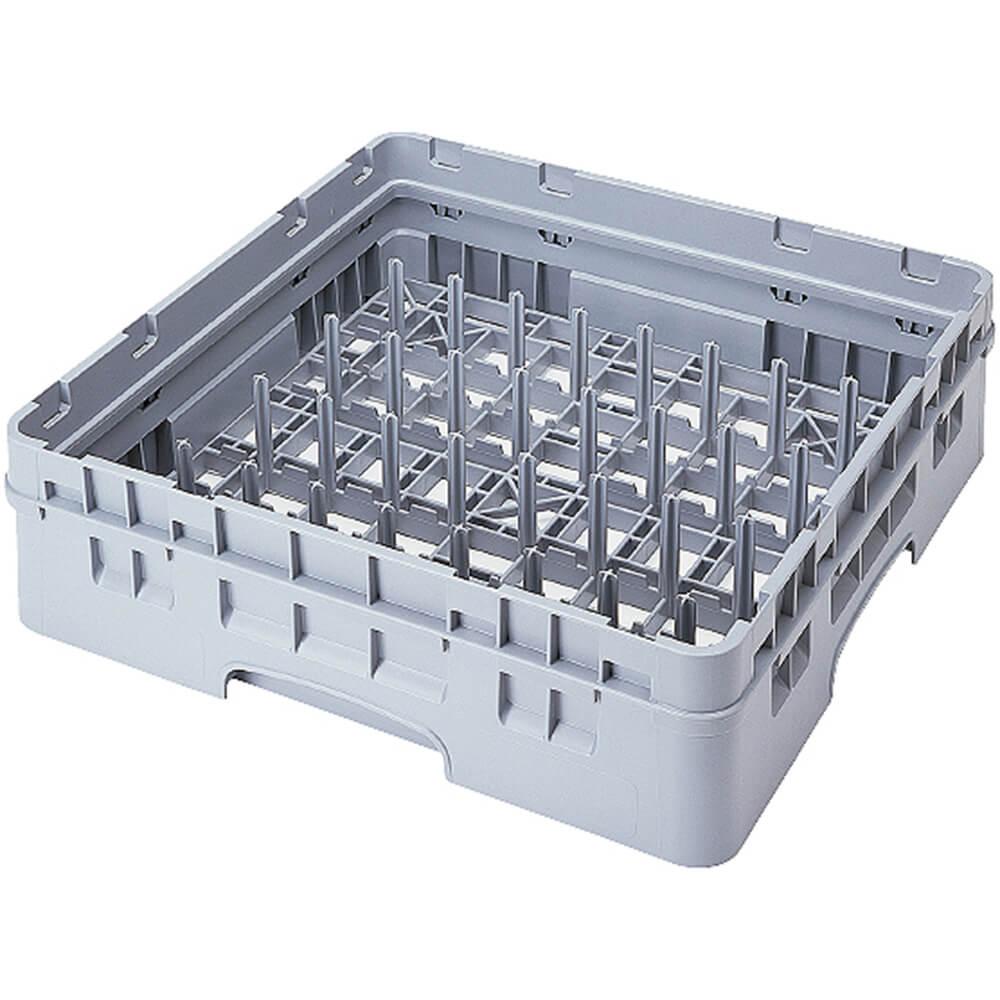 Soft Gray, 9 X 9 Peg Rack, Full Size Dish Rack, 1 Extender
