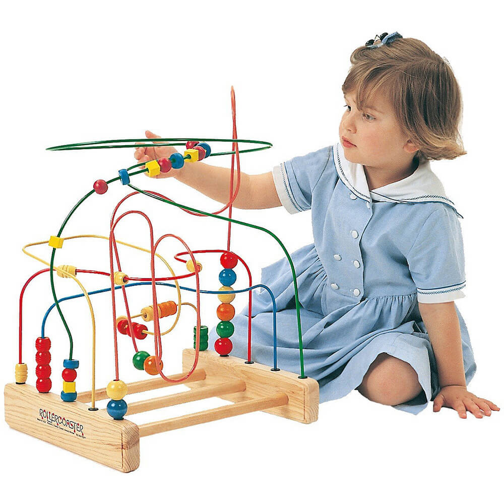 The Original Roller Coaster Wire and Bead Toy
