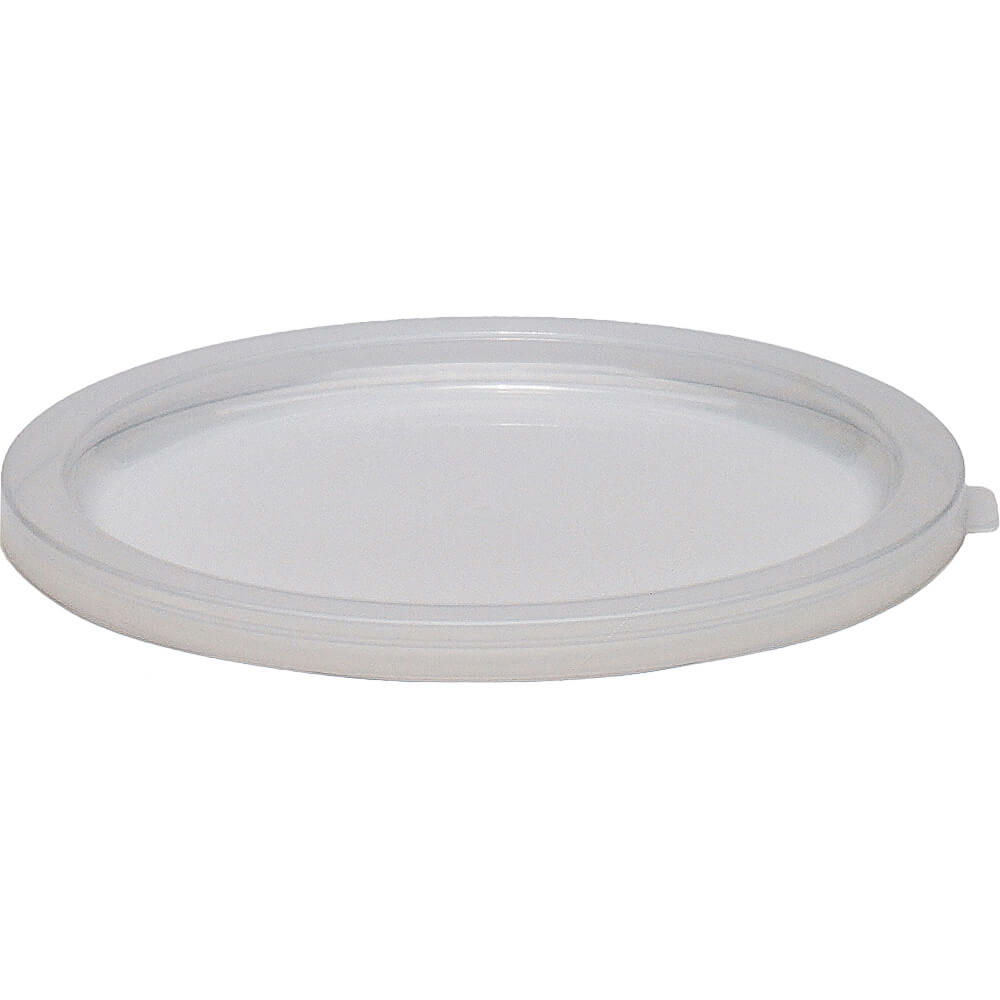 Translucent, Extra Large 12,18 and 22 qt. Lids for Round Containers, 6/PK