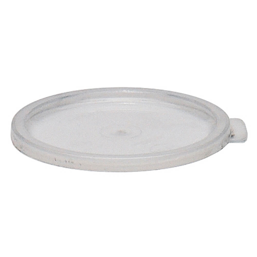 Translucent, Medium 2 and 4 qt. Lids for Round Containers, 12/PK