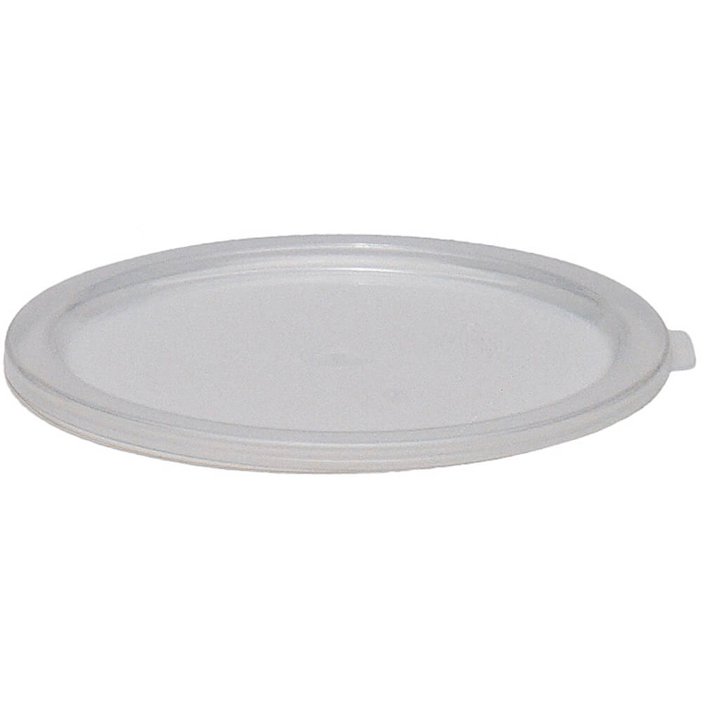 Translucent, Large 6 and 8 qt. Lids for Round Containers, 12/PK
