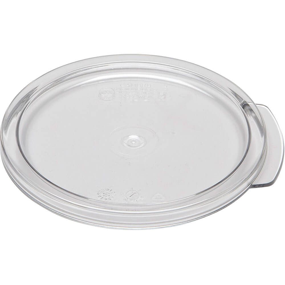 Clear, Small 1 qt. Camwear Lids, 12/PK