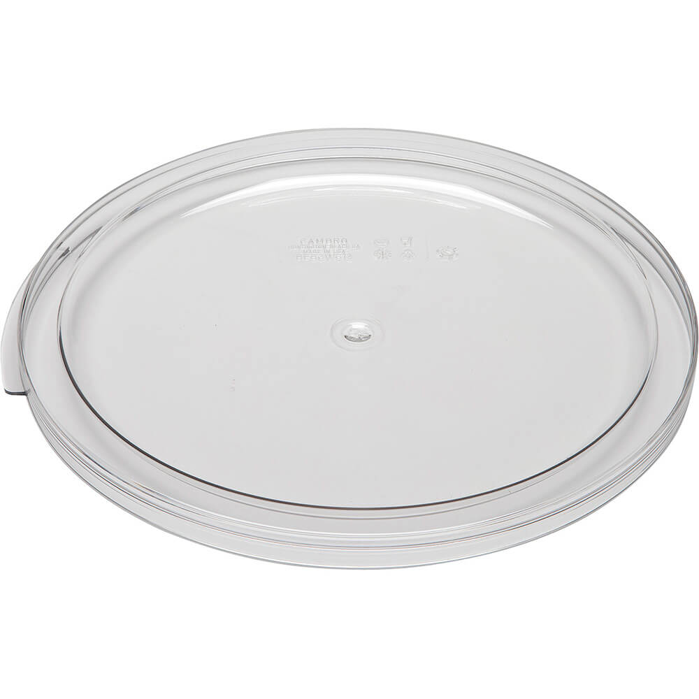 Clear, Extra Large 12,18 and 22 qt. Camwear Lids, 6/PK