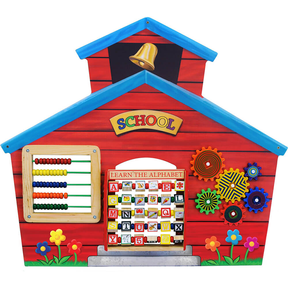 School House Decorative Wall Panel