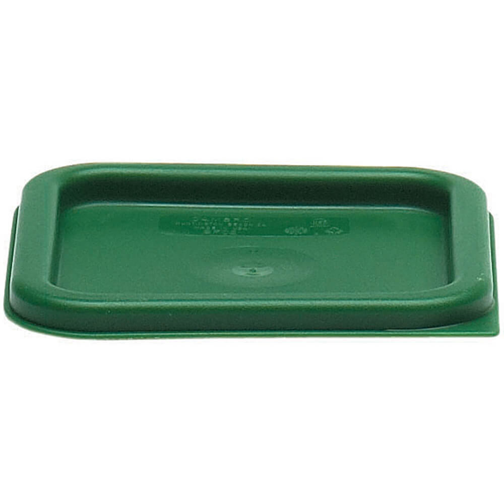 2 and 4 qt. Small Polyethylene Square Lids, 6/PK