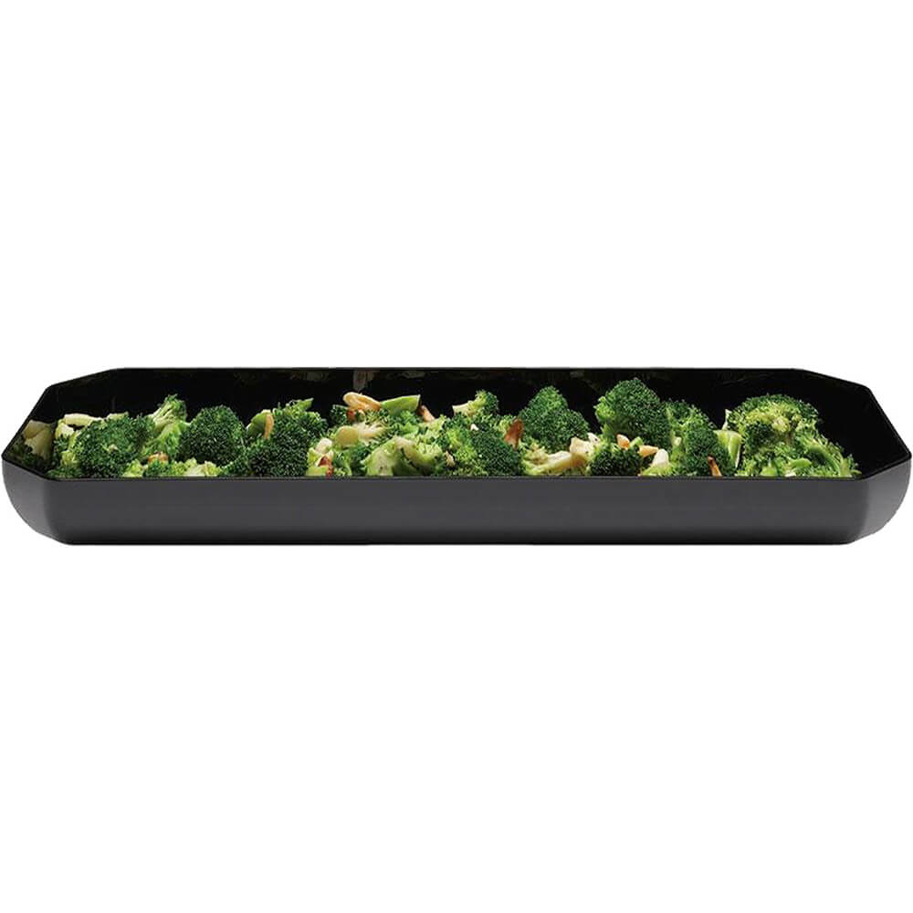 "Black, 12"" X 20"" Display Trays, Octagonal, 6/PK View 2"