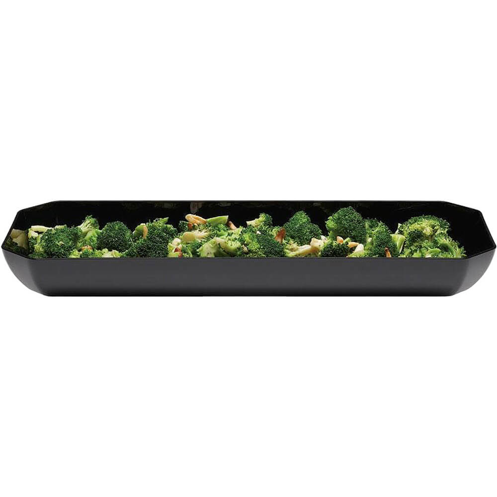 "Black, 8"" X 20"" Display Trays, Octagonal, 6/PK View 2"