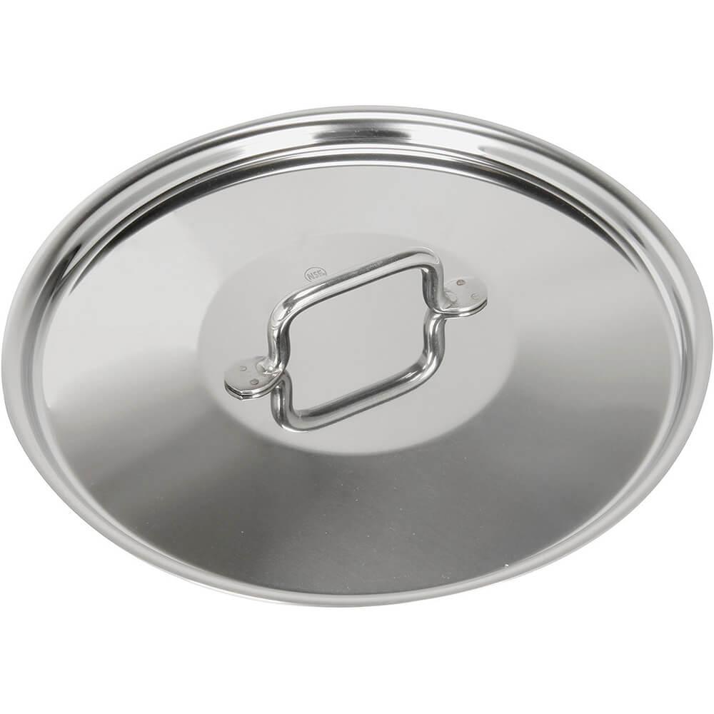 "15.75"" Stainless Steel Lid with Welded Handle, Horeca R Collection"