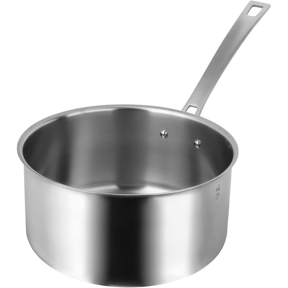 Stainless Steel Horeca-R Induction Ready Saucepan, 5.4 Qt