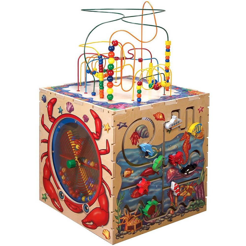 Sea Life Play Waiting Room Cube