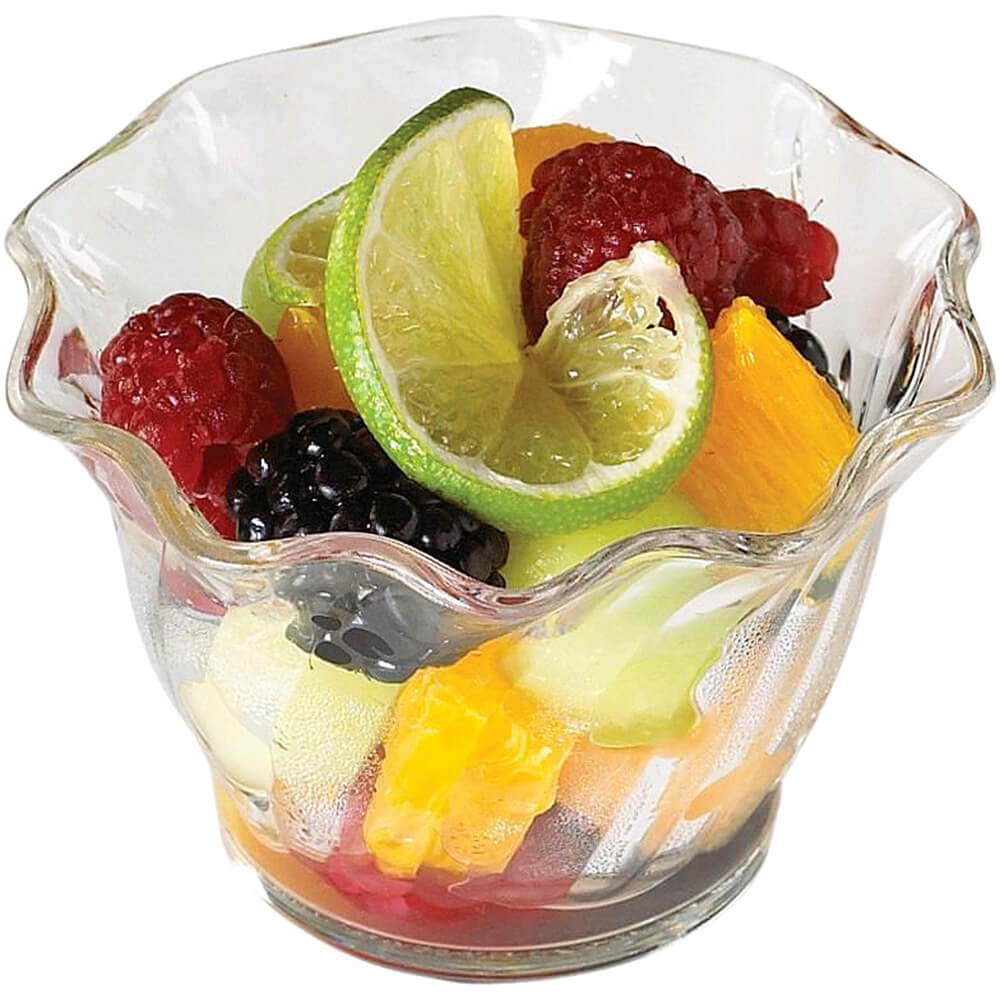 Clear, 5 Oz. Polycarbonate Swirl Bowl, 24/PK