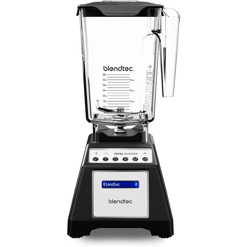 Black, Total Blender Classic with Wildside+ Jar, Factory Re-Certified