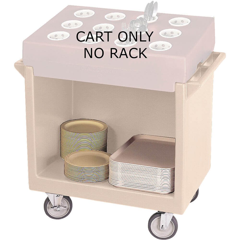 Gray, Tray and Dish Cart, Cart Only