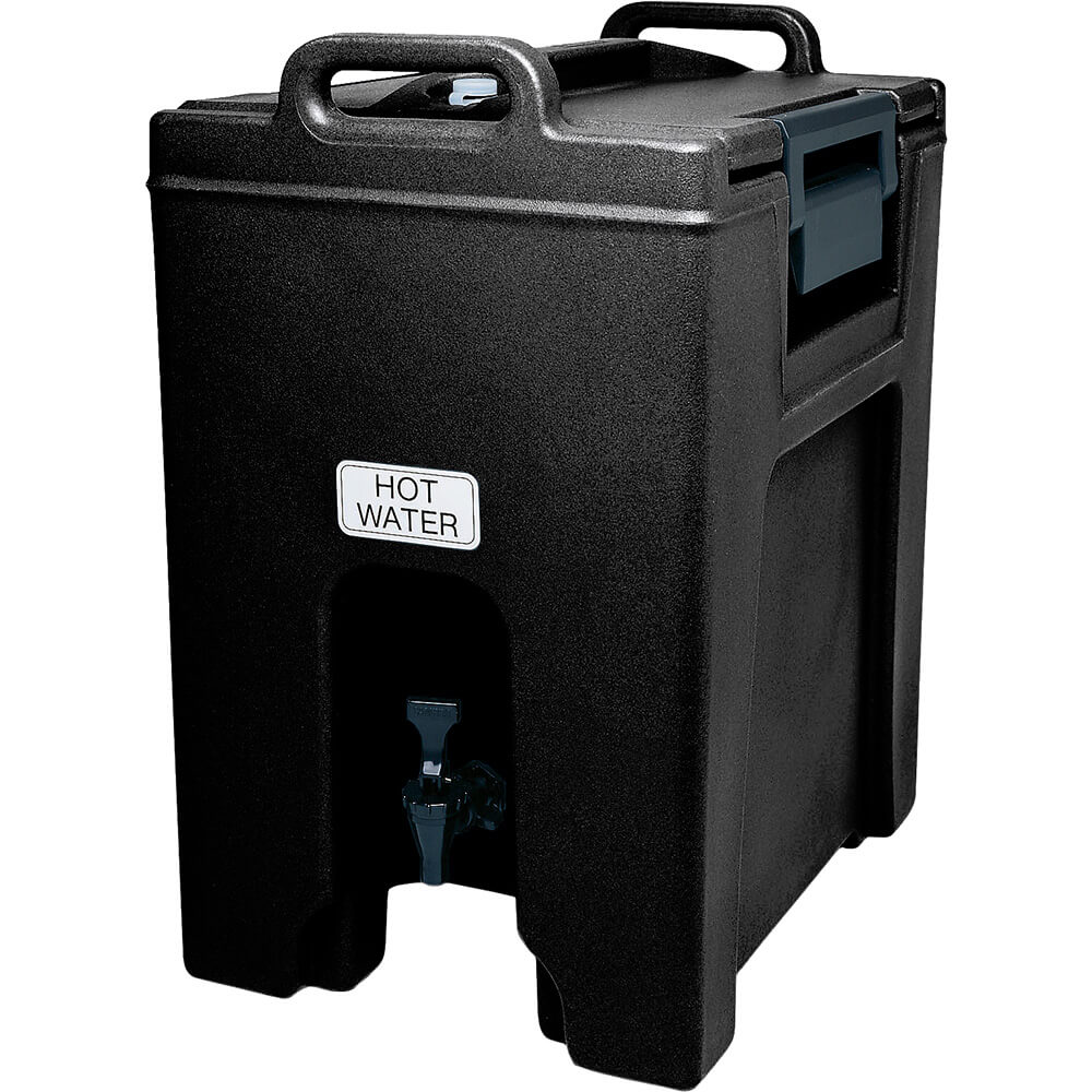 Black, 10.5 Gal. Insulated Beverage Dispenser, Ultra Camtainer