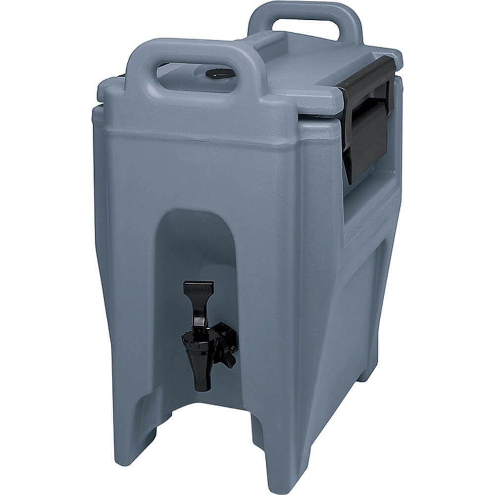 Slate Blue, 2.75 Gal. Insulated Beverage Dispenser, Ultra Camtainer