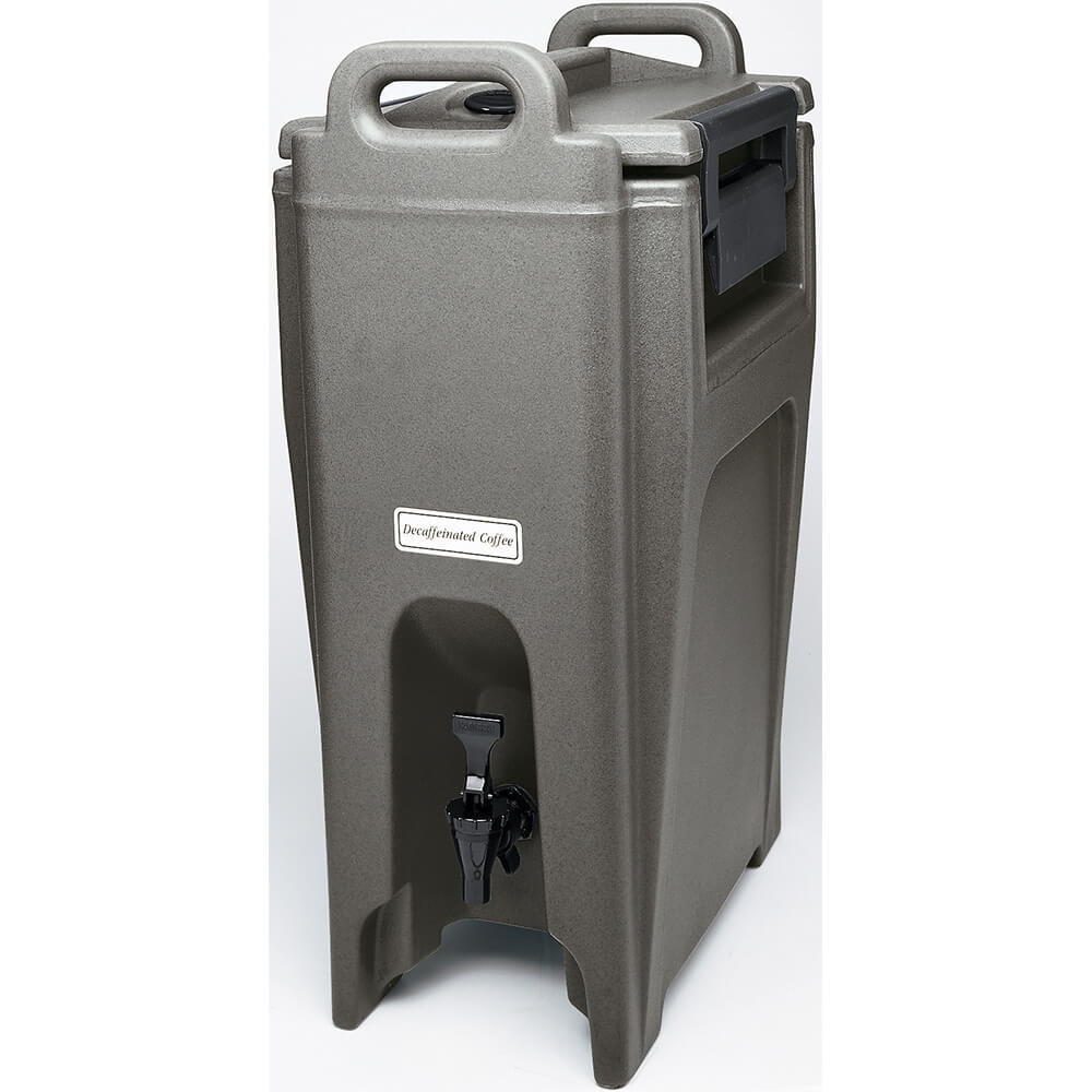 Granite Gray, 5.25 Gal. Insulated Beverage Dispenser, Ultra Camtainer