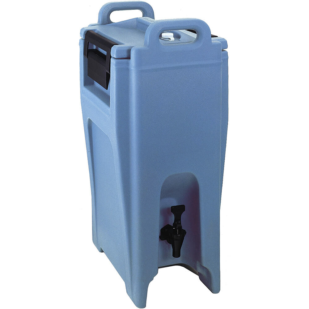 Slate Blue, 5.25 Gal. Insulated Beverage Dispenser, Ultra Camtainer
