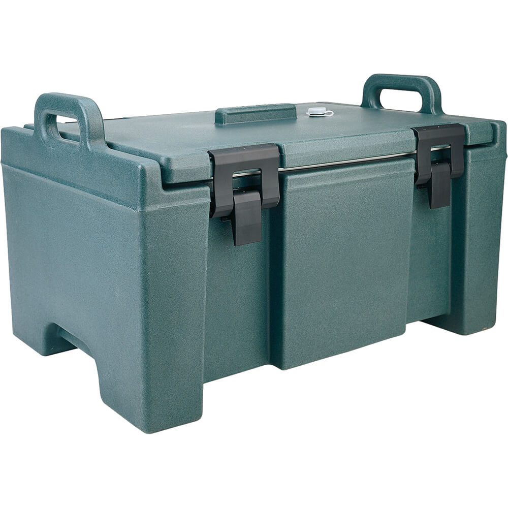 Granite Green, Insulated Food Carrier, Bulk Food Storage, Molded Handles