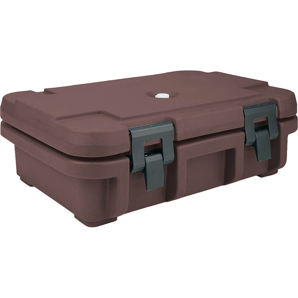 "Dark Brown, Insulated Food Carrier for 4"" Deep Pans"