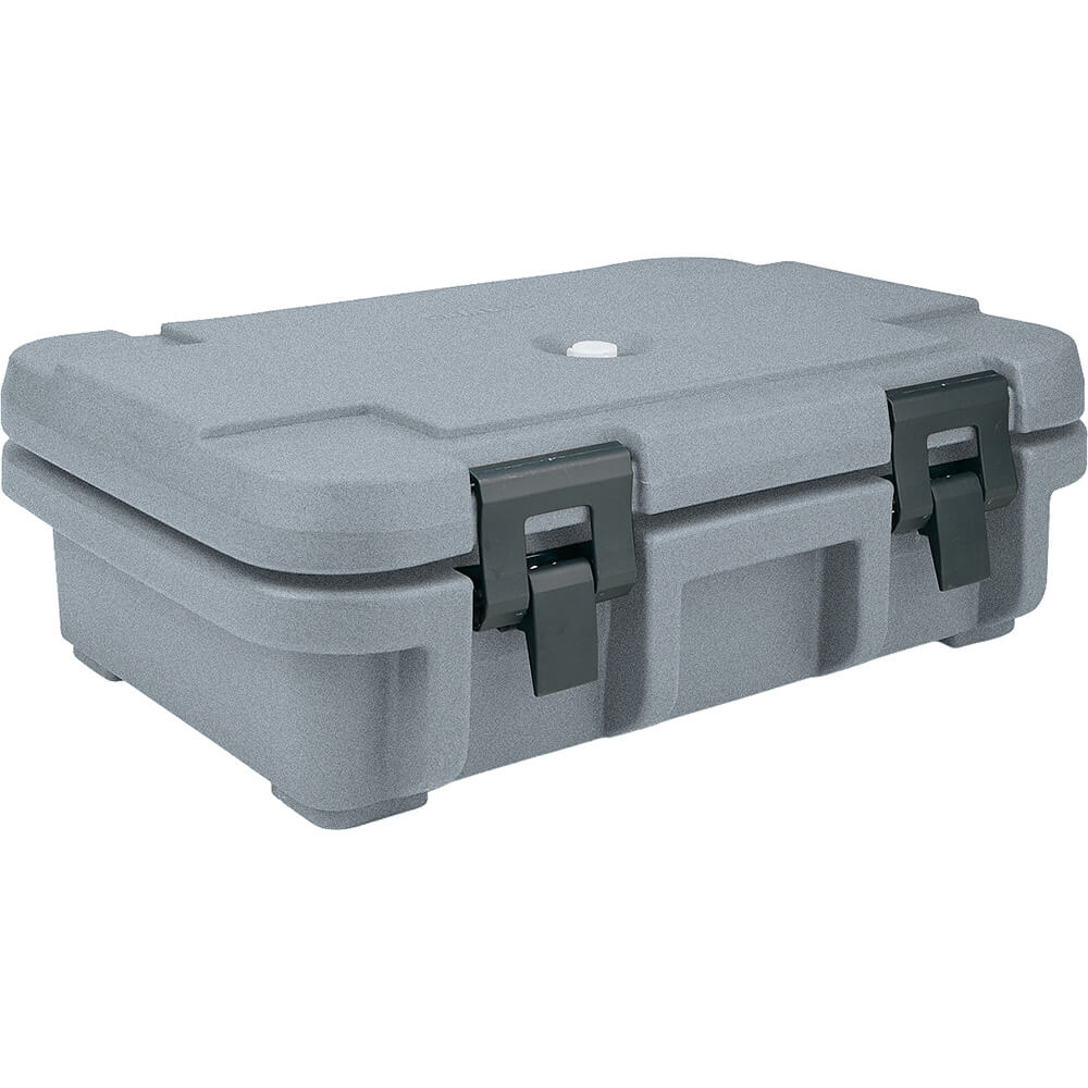"Granite Gray, Insulated Food Carrier for 4"" Deep Pans"