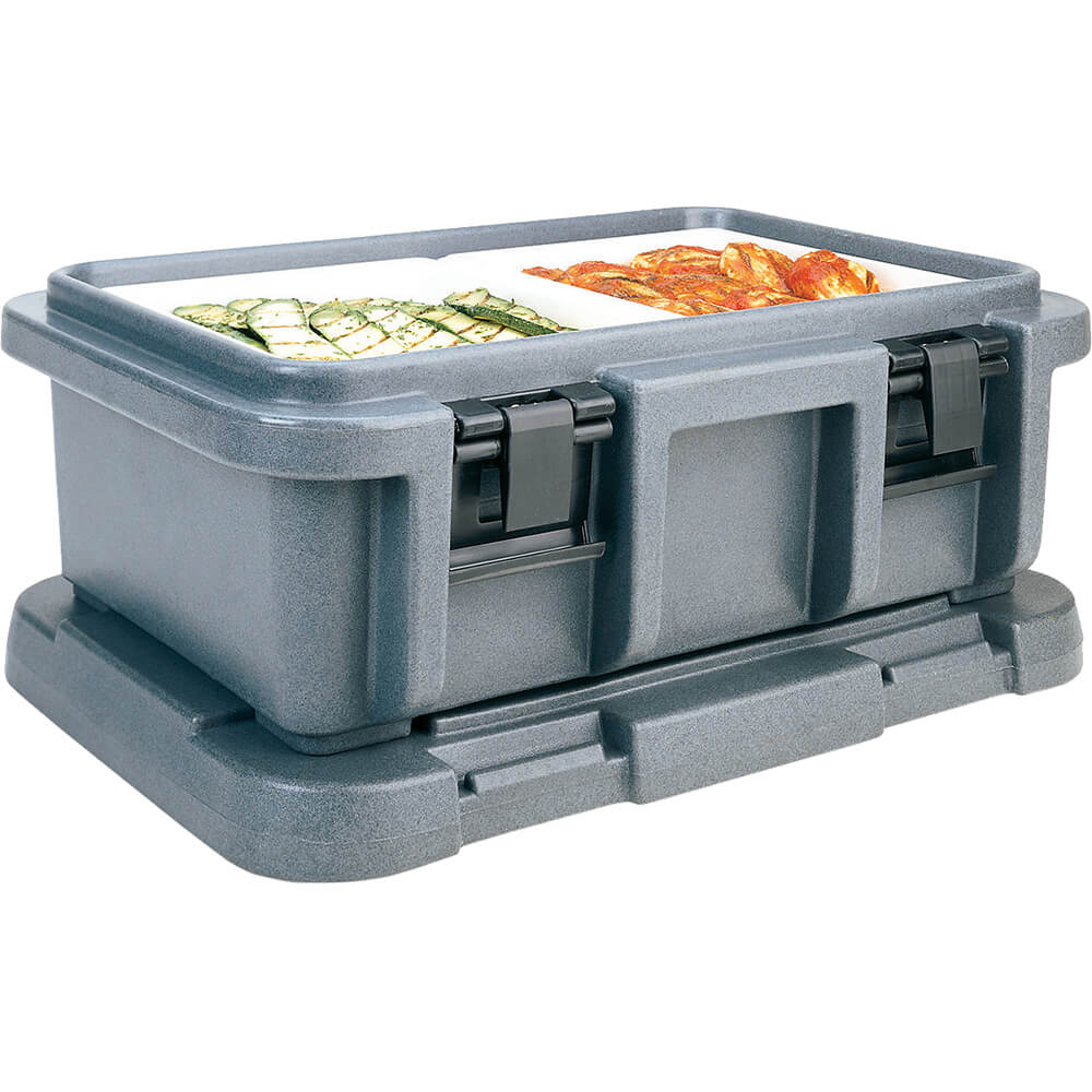 "Granite Gray, Insulated Food Carrier for 6"" Deep Pans"