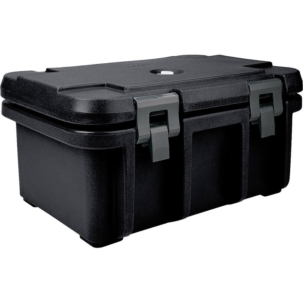 "Black, Insulated Food Carrier for 8"" Deep Pans"