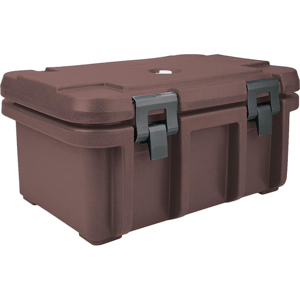 "Dark Brown, Insulated Food Carrier for 8"" Deep Pans"