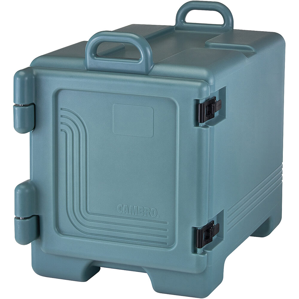 Slate Blue, Insulated Front Loading Food Carrier, Full Size Pans