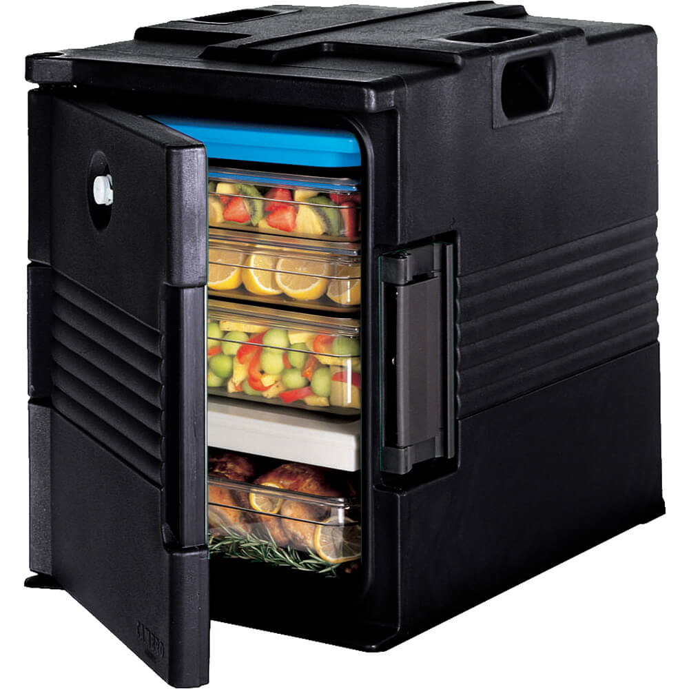 Black, Ultra Insulated Food Carrier, No Casters