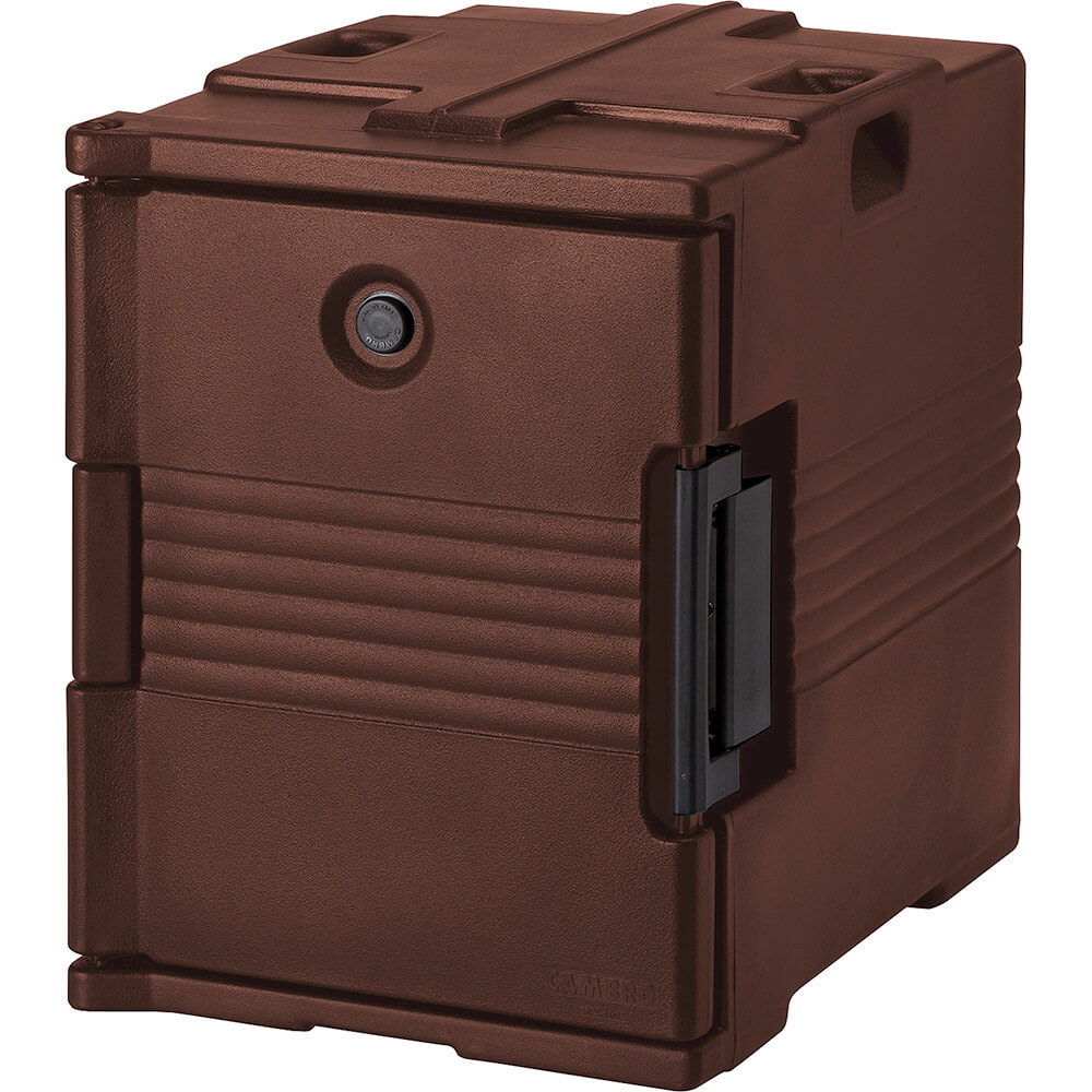Dark Brown, Ultra Insulated Food Carrier, No Casters View 2