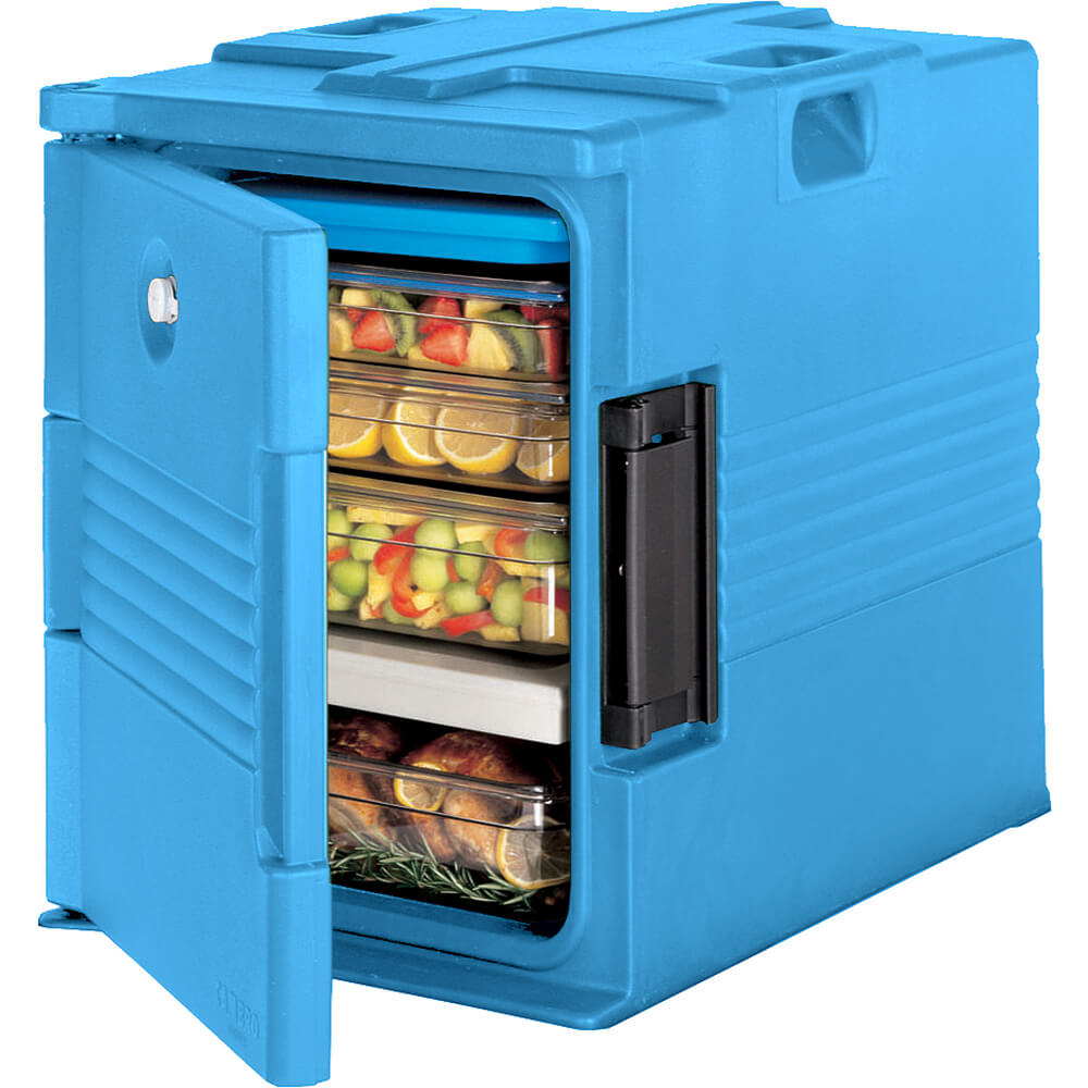 Cold Blue, Ultra Insulated Food Carrier, Lockable