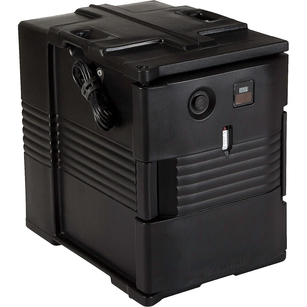 Black, H-Series Electric Hot Box, Food Carrier, 110V